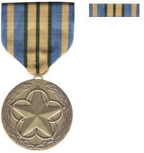 volunteer medal navy instruction